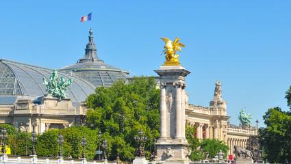 Alexandre III bridge in Paris Fototapete