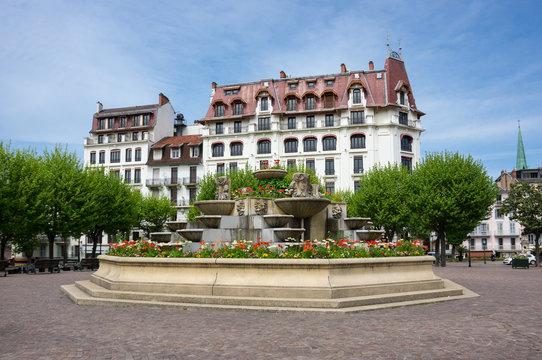 French resort Aix-Les-Bains