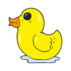 cartoon rubber duck