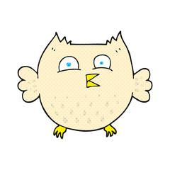 cartoon happy owl