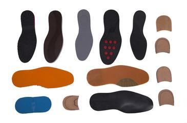isolated shoe tread kind