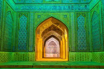 Entrance of Vakil Mosque in Shiraz, Iran