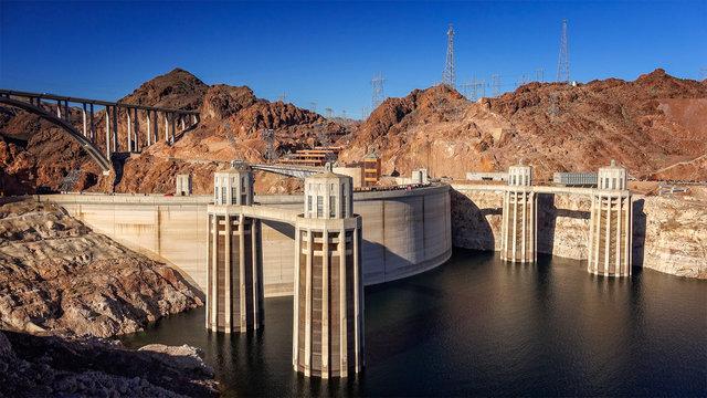 Hoover Dam and Pat Tillman Memorial Bridge