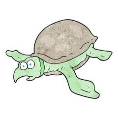 textured cartoon turtle