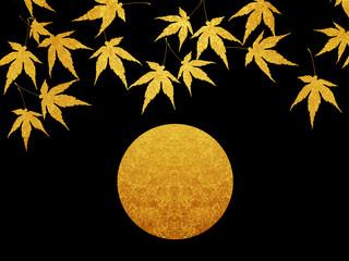 秋 中秋の名月