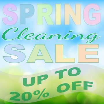 Spring Cleaning Sales Event - 20% Off!