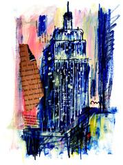 世界の街角で 高層ビル