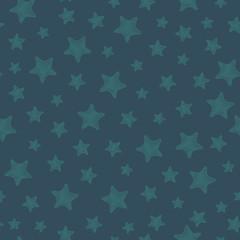 seamless stars pattern background