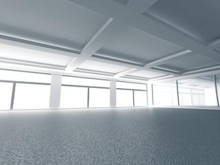 Empty Modern Interior Hall Background