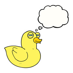 thought bubble cartoon funny rubber duck