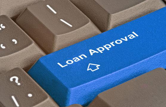 Hot key for loan approval