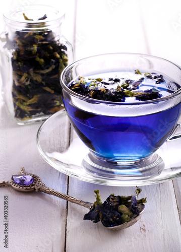 Pea tea синий чай