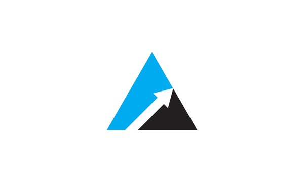 triangle growth business logo