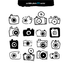Vector Icons for Photographers set