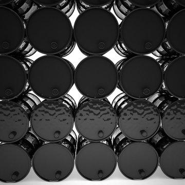 Black barrels, 3d