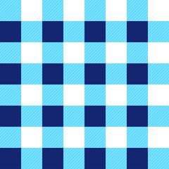 Blue White Chessboard Background Vector Illustration