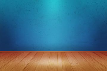 Blue Spotlight Room Image