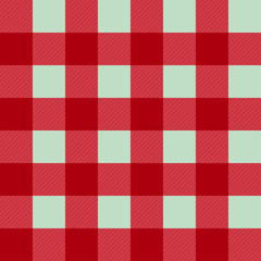 Red Pink Green Chessboard Background Vector Illustration