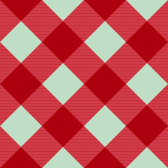 Red Pink Green Diamond Chessboard Background Vector Illustration