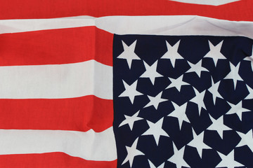 America flag wall background