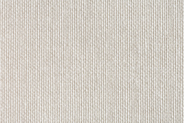 Natural linen striped uncolored textured sacking canvas backgrou