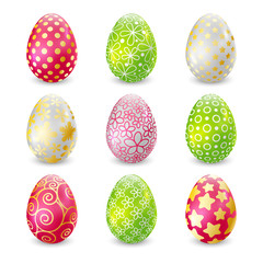 Set of Easter eggs for Your design