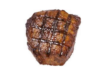 steak in close-up