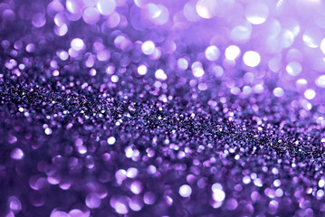 smooth blur purple glitter bokeh texture abstract background
