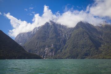 Auf dem Milford Sound Neuseeland