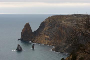 Mountain in the Black sea