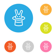 icon flat_rabbit