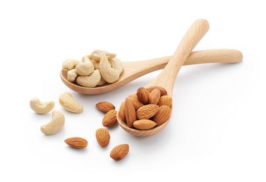 Cashew Nuts and Almonds