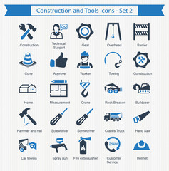 Construction and Tools Icons - Set 2