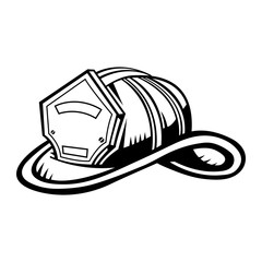 Firefighter Helmet vector icon
