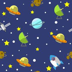 Space pattern illustration 01