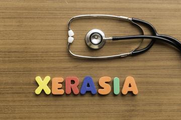 xerasia colorful word