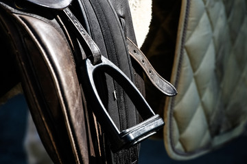 saddle brackets - detail