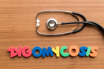 zygomycosis colorful word