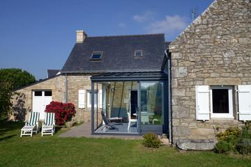 Maison bretonne rénovée