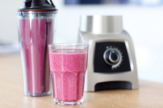 roter Protein Smoothie