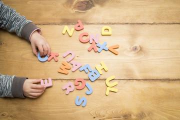 アルファベットの勉強