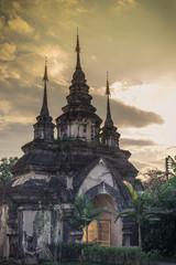Gate, Wat Suandok, Chiang Mai, Thailand