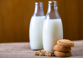 Milk and Biscuits
