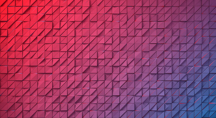 Abstract image of triangular pattern background