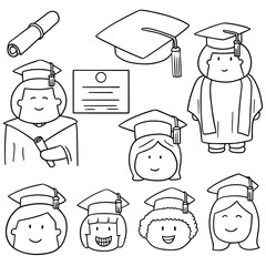 vector set of graduate