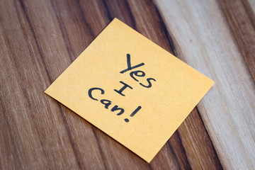 Yes I can  can, a powerful message