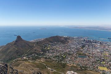 Kapstadt vom Table Mountain