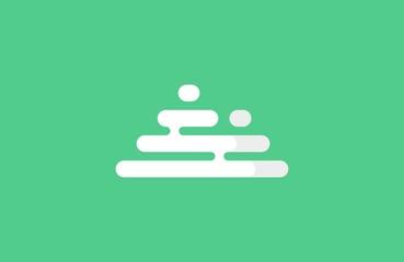 Mountains logo. Minimalistic mountains logo. Triangle logo design. Pyramids logo.