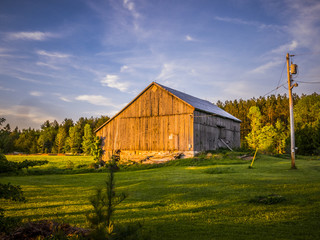 An Old Country Style Barn