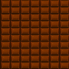 seamless texture Chocolate